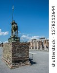 pompeii is the most visited... | Shutterstock . vector #1278212644