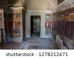 pompeii is the most visited... | Shutterstock . vector #1278212671