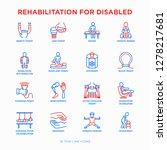 rehabilitation for disabled...   Shutterstock .eps vector #1278217681