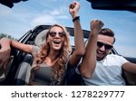 close up.a happy couple... | Shutterstock . vector #1278229777
