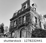 old house. entwined with ivy.... | Shutterstock . vector #1278232441