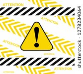 danger warning attention or... | Shutterstock .eps vector #1278234064