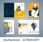 cover book design set  black... | Shutterstock .eps vector #1278241057