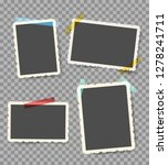 scrapbook photo pictures.... | Shutterstock .eps vector #1278241711