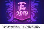 calligraphy happy new year...   Shutterstock .eps vector #1278246007