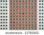 facade of building on plaza de... | Shutterstock . vector #12782602
