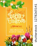 template vector poster with... | Shutterstock .eps vector #1278265141