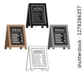 menu of pizzeria icon in... | Shutterstock .eps vector #1278286357