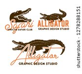 african animals labels isolated ... | Shutterstock .eps vector #1278288151