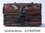 wooden trunk