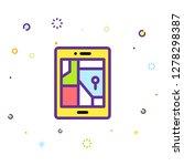 phone icon illustration | Shutterstock .eps vector #1278298387
