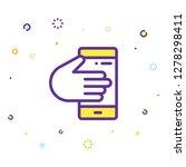 phone icon illustration | Shutterstock .eps vector #1278298411