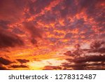 amazing cloudscape on the sky... | Shutterstock . vector #1278312487