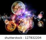 bubble symphony series....   Shutterstock . vector #127832204