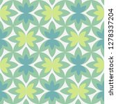 abstract pattern of lush green... | Shutterstock .eps vector #1278337204