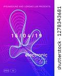 sound flyer. energy show... | Shutterstock .eps vector #1278343681