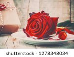 background love and romantic.... | Shutterstock . vector #1278348034
