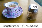 turkish salep or sahlep with... | Shutterstock . vector #1278356551
