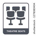 theatre seats icon vector on... | Shutterstock .eps vector #1278383434