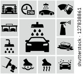 car wash | Shutterstock .eps vector #127838861