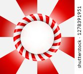 banner in the form of a red...   Shutterstock .eps vector #1278391951