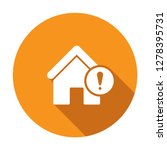 mortgage alerts icon. house...