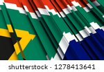 abstract flag of south africa.... | Shutterstock . vector #1278413641