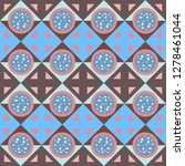 colorful seamless pattern with...   Shutterstock .eps vector #1278461044