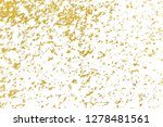 gold splashes texture. brush... | Shutterstock . vector #1278481561