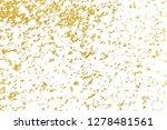 gold splashes texture. brush... | Shutterstock . vector #1278481561