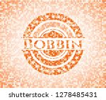 bobbin abstract orange mosaic... | Shutterstock .eps vector #1278485431