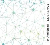 blue white gradient dots...   Shutterstock .eps vector #1278487921
