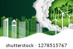 green nature landscape and eco... | Shutterstock .eps vector #1278515767