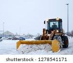 Yellow Snow Removal Machine...