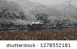 snowscape of west lake in... | Shutterstock . vector #1278552181