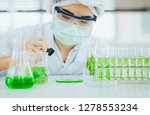 green herbal medicine research... | Shutterstock . vector #1278553234