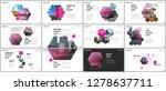 minimal presentations design ...   Shutterstock .eps vector #1278637711
