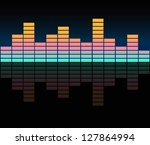 equalizer | Shutterstock .eps vector #127864994