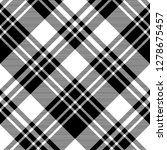 black and white fabric texture... | Shutterstock .eps vector #1278675457
