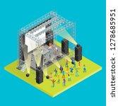 music festival concept 3d... | Shutterstock .eps vector #1278685951