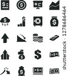 solid black vector icon set  ... | Shutterstock .eps vector #1278686464
