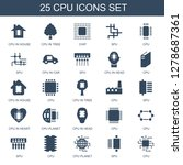icons. trendy 25 icons. contain ... | Shutterstock .eps vector #1278687361
