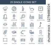 single icons. trendy 25 single... | Shutterstock .eps vector #1278688324