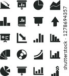 solid black vector icon set  ... | Shutterstock .eps vector #1278694357