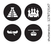 4 vector icon set   chichen... | Shutterstock .eps vector #1278715147