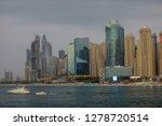 jumeirah beach residence dubai  ... | Shutterstock . vector #1278720514