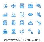 soil testing flat line icons... | Shutterstock .eps vector #1278726841