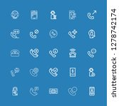 editable 25 hotline icons for...