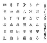 editable 36 reaction icons for...   Shutterstock .eps vector #1278742201