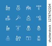 editable 16 making icons for... | Shutterstock .eps vector #1278742204